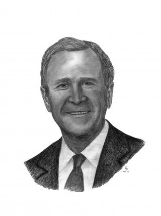 President-george-w-bush-charles-vogan